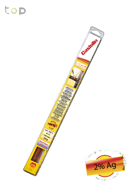 Припой Castolin RB 5280 д.2,0мм, упак.1,0кг для пайки меди и ее сплавов