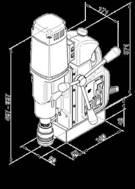 Магнитный станок МАВ-525
