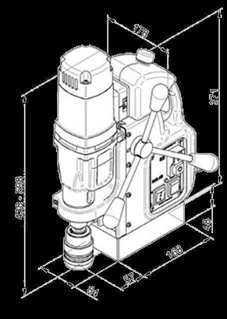Магнитный станок МАВ-485