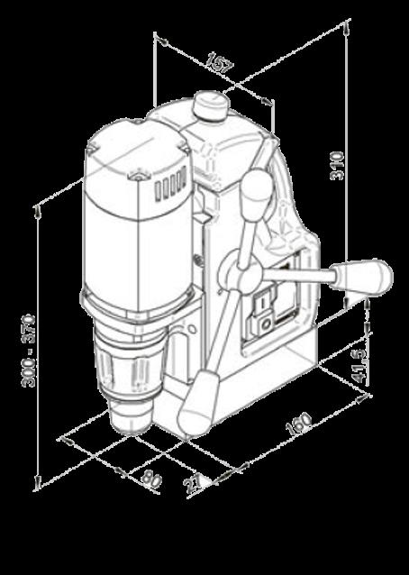 Магнитный станок МАВ-100