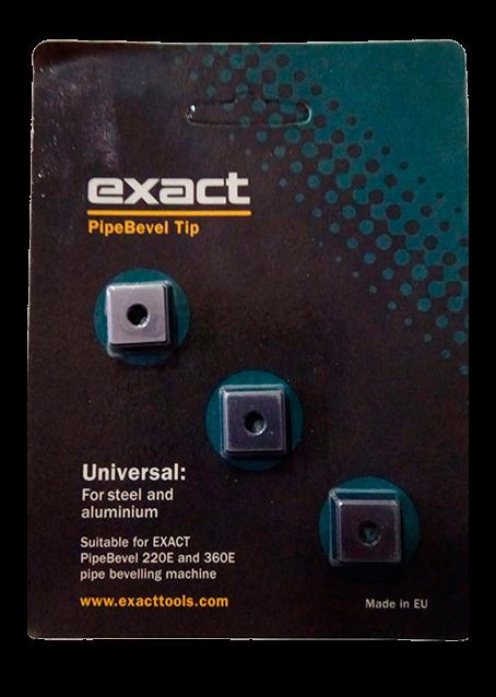 Комплект фаскосъемных ножей EXACT