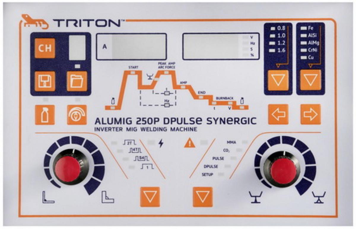 Triton ALUMIG 250P Dpulse Synergic 380v полуавтоматическая сварка
