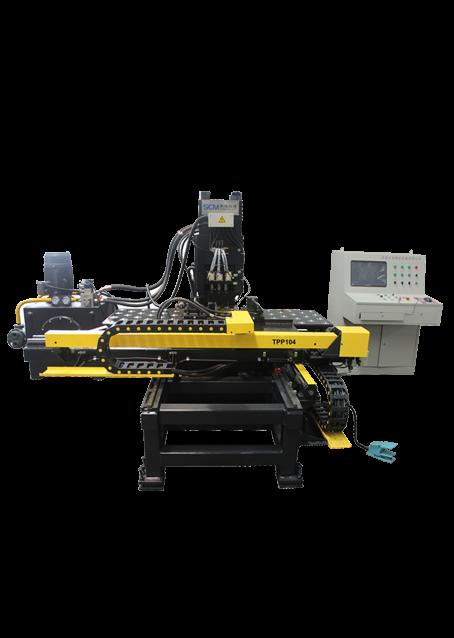 TPPR103 /TPPR104 гидравлический станок с ЧПУ повышенной мощности для пробивки и маркировки листов