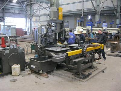 TPPD 103 / TPPD 104 автоматический станок с ЧПУ для пробивки, сверления и маркировки листовой стали