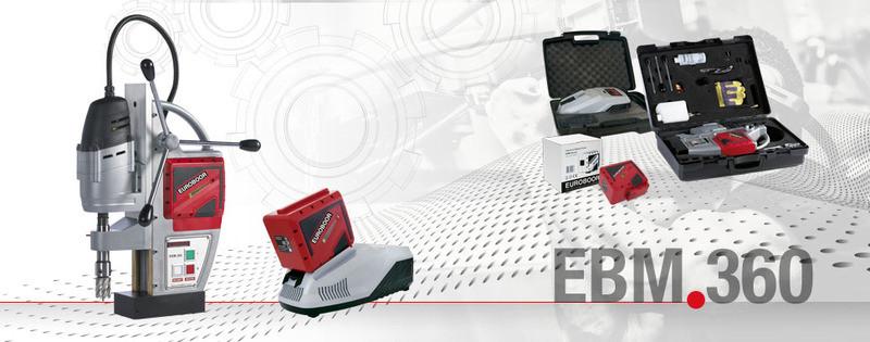 EBM.360 Сверлильный станок на магнитном основании аккумуляторный