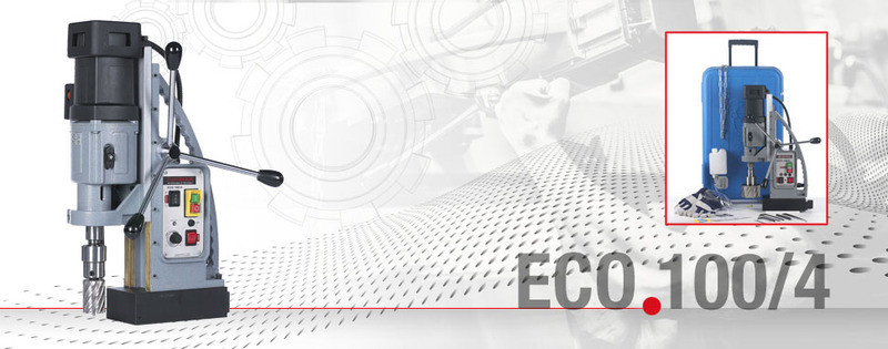 Сверлильный станок на магнитном основании ECO.100/4