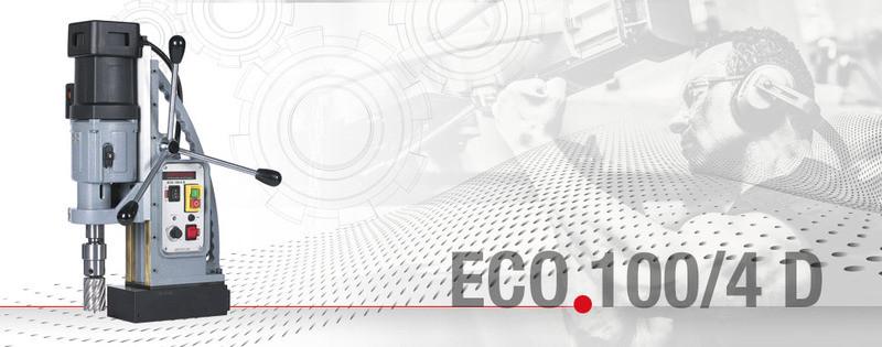 Сверлильный станок на магнитном основании ECO.100/4 D