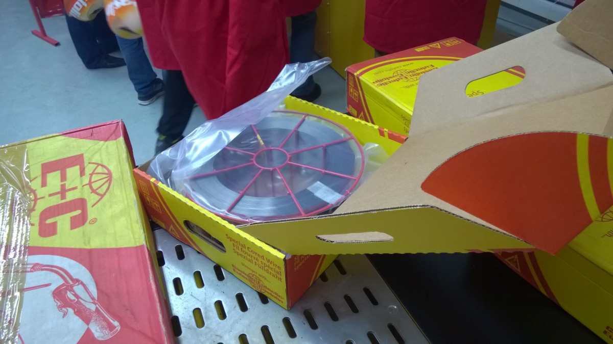 Порошковая проволока EnDOtec DO*02 Ø1,2 mm упак 15.0 кг