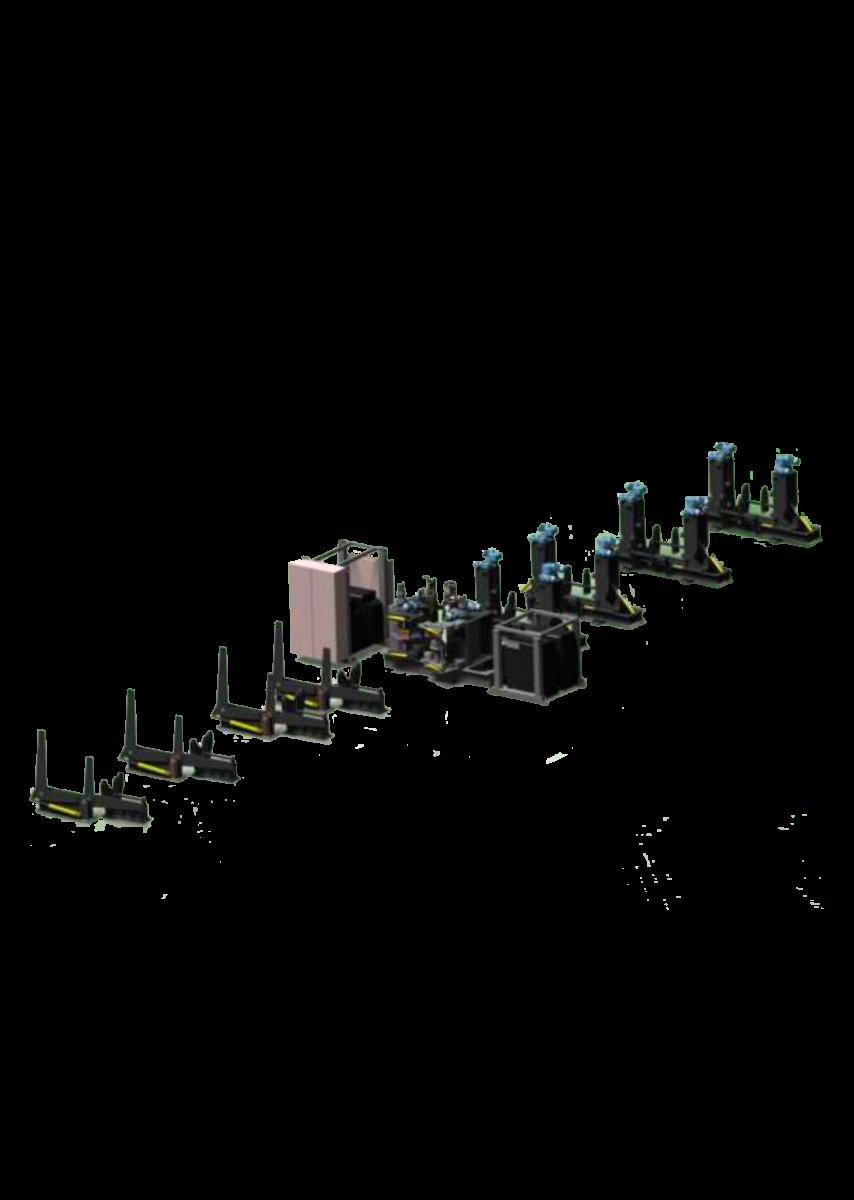 L-Установка для производства тавровой, двутавровой балок( Горизонтальная)
